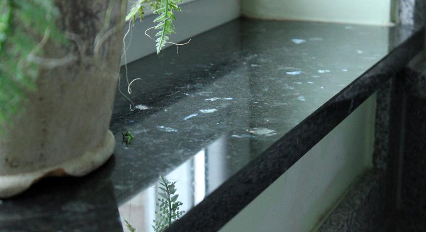 Granit fösterbänkar