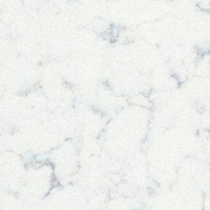 Noble Carrara - ljus kvartskomposit bänkskivör i köket från Technistone 2